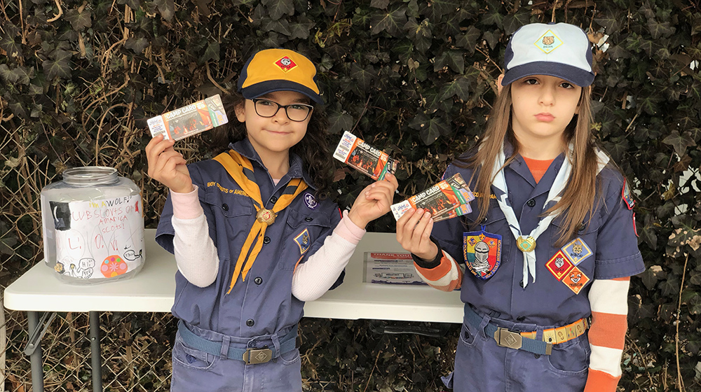 Splash Supports Boy Scouts Camp Card Program
