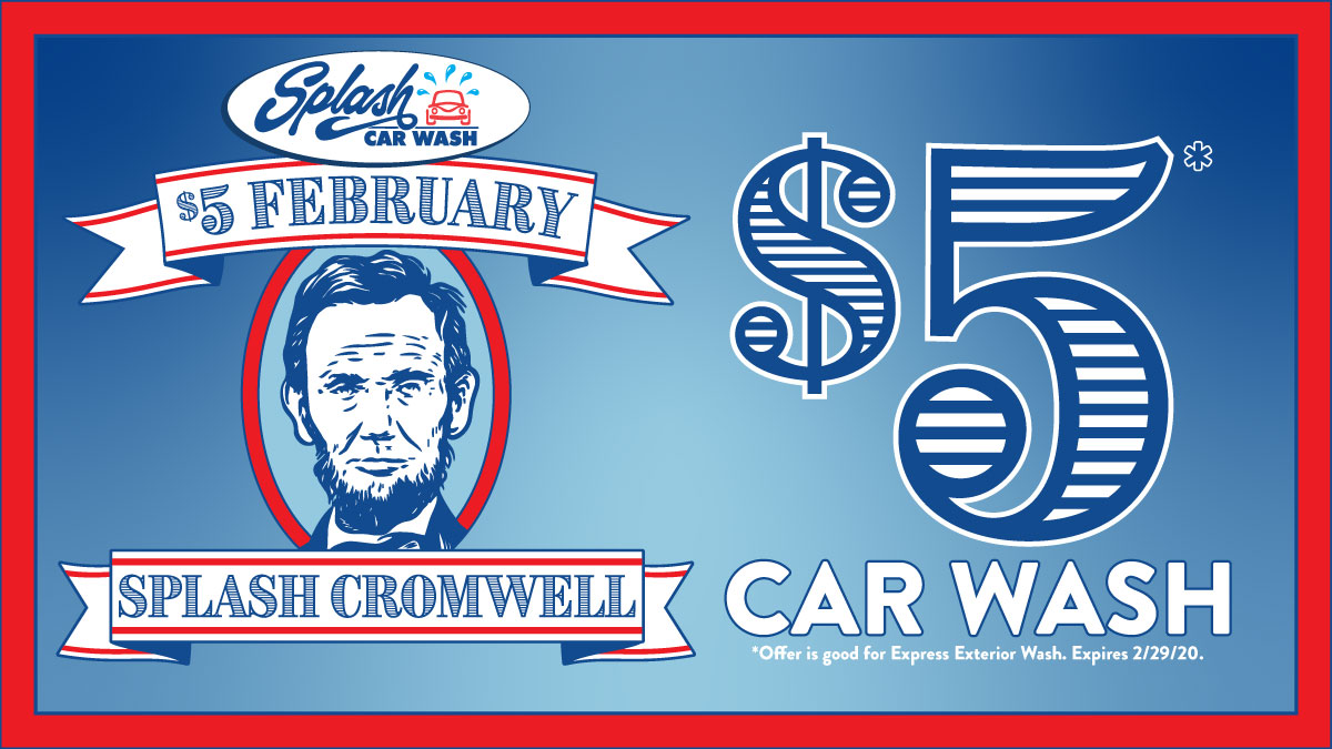 $5 February Splash Cromwell